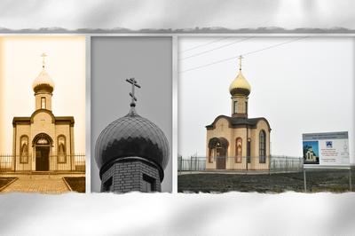 Строительство Храма-часовни в д.Клишино